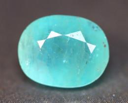 Grandidierite 2.09Ct Natural Seaform Blue Madagascar Rare Gemstone BN156