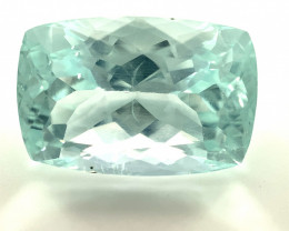 Aquamarine 24.45ct Natural and Untreated Cushion