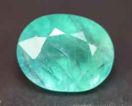 Grandidierite 2.67Ct Natural Seaform Blue Madagascar Rare Gemstone BN161