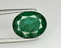 4.20 Ct Brilliant Color Natural Zambian Emerald
