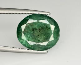 4.10 Ct Brilliant Color Natural Zambian Emerald