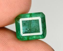 2.55 Ct Brilliant Color Natural Zambian Emerald
