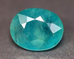 Grandidierite 2.89Ct Natural Seaform Blue Madagascar Rare Gemstone BN167