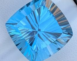 FANCY Cut  27.85 Carats Topaz Gemstones