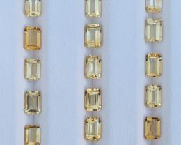 11.75 Carats Citrine  Gemstones Parcels