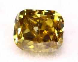 Diamond 2.63mm Natural Untreated Fancy Color Diamond C65