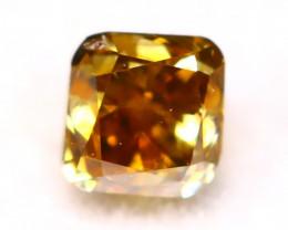 Diamond 2.56mm Natural Untreated Fancy Color Diamond C69