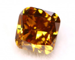 Diamond 2.90mm Natural Untreated Fancy Color Diamond C74
