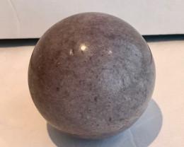 """3.5"""" Large Lepidolite Sphere - RARE - 1025 Grams - 89mm"""