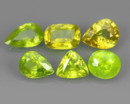 3.45 CTS~EXCELLENT NATURAL GREEN SPHENE