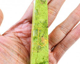 Genuine 464.00 Cts Blood Green Unakite Healing Stick