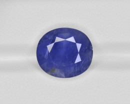 Blue Sapphire, 8.89ct - Mined in Burma   Certified by IGI