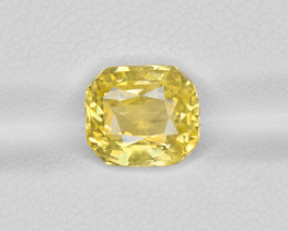 Yellow Sapphire, 4.18ct - Mined in Sri Lanka | Certified by IGI