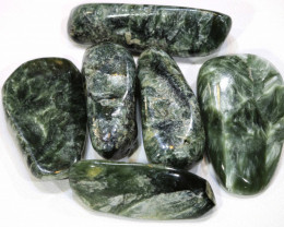 96 CTS GREEN SERAPHINITE  PARCEL ADG-419