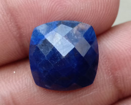 SAPPHIRE BLUE ROSE CUT GENUINE GEMSTONE VA790