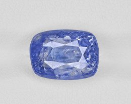 Blue Sapphire, 6.69ct - Mined in Kashmir | Certified by GIA