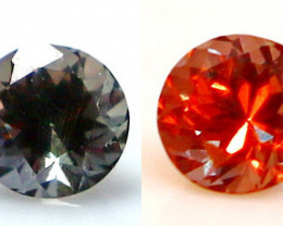 0.75 CT Natural - Unheated Color Change Garnet Gemstone