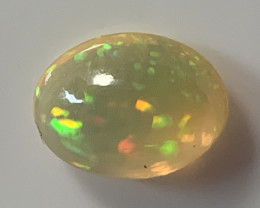 Welo Opal 1.93Ct Natural Ethiopian Play of Color Opal