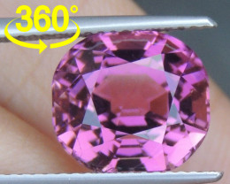 6.57cts Vivid Pink Tourmaline