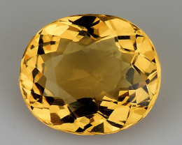 1.21 Cts Natural Heliodor Top Quality Gemstone HR33