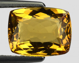 2.30 Cts Natural Heliodor Top Quality Gemstone HR35