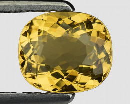 0.87 Cts Natural Heliodor Top Quality Gemstone HR41