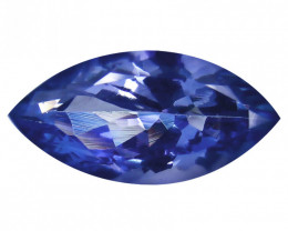 IGI sert 3.37 ct Tanzanite eye clean  marquise cut