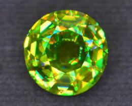 Rare AAA Fire 4.22 ct Chrome Sphene Sku-55