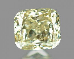Untreated Fancy Yellowish Green  Color Natural Loose Diamond
