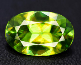 5.95 Carats Natural Full Fire Chrome Sphene Titanite Gemstone