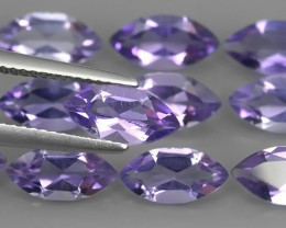 10.90 CTS AWESOME NATURAL MARQIUSE WONDERFUL~VIOLET AMETHIYST GEM!!