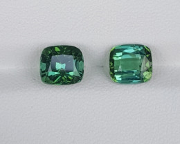 Stunning Green Tourmaline Gemstones 3.95 Carats
