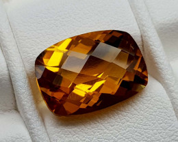 6.15Crt Madeira Citrine Natural Gemstones JI102