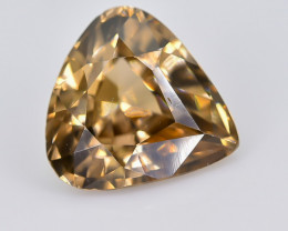 2.87 Crt Natural Zircon Faceted Gemstone.( AB 37)