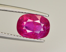 Brilliant Color 2.54  Ct Natural Ruby From Mozambique