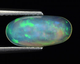 1.28 Ct Natural Opal Sparkling Luster Gemstone. OP 52
