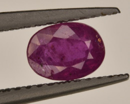 Unheated Ruby 0.685 Carats