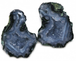 20.66 CTS GEODE PAIR ZACATECAS MEXICO-POLISHED  [MGW5538]