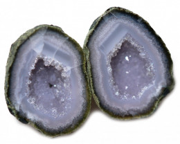 15.78 CTS GEODE PAIR ZACATECAS MEXICO-POLISHED  [MGW5546]