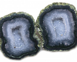 53.68 CTS GEODE PAIR ZACATECAS MEXICO-POLISHED  [MGW5558]