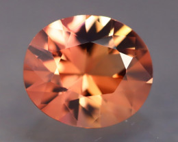 AAA Grade 2.87Ct Natural Diamond Cutting Padparadscha Tourmaline B2103