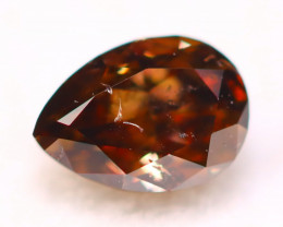 NR Cognac Diamond 0.25Ct Natural Untreated Fancy Color Diamond A2010