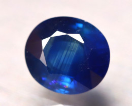 Certified Sapphire 3.13Ct Natural Blue Sapphire DR99/B24