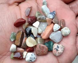 100 Carats Mixed Gemstones Tumbled 100% Natural & Untreated VA834