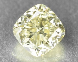 0.48 Cts Untreated Fancy Yellowish Green  Color Natural Loose Diamond