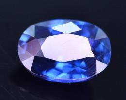 Amazing Color 0.80 Ct Natural Royal Blue Sapphire. RAH