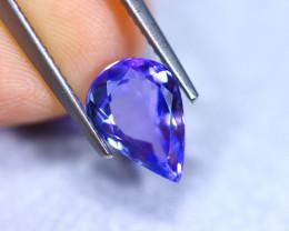 2.09cts Natural Violet Blue D Block Tanzanite / RD861