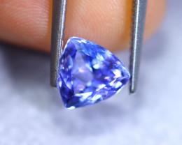 1.58cts Natural Violet Blue D Block Tanzanite / RD862