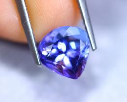 2.24cts Natural Violet Blue D Block Tanzanite / RD863