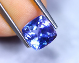 1.75cts Natural Violet Blue D Block Tanzanite / RD865